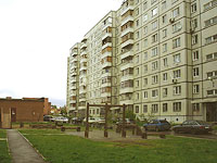 Togliatti, Avtozavodskoe shosse, house 41. Apartment house