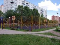 Тольятти, улица Автостроителей. спортивная площадка