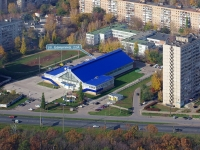 "neighbour house: st. Banykin, house 22А. sport center ""Акробат"""