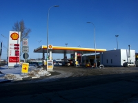 "neighbour house: st. Borkovskaya, house 91А. fuel filling station ""Shell"""