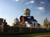 neighbour house: st. Voroshilov, house 2Б. temple