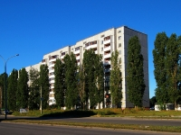 neighbour house: st. Voroshilov, house 2В. Apartment house