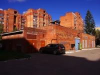 Тольятти, улица Гидростроевская. хозяйственный корпус