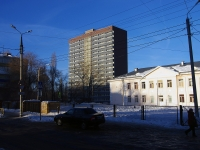 neighbour house: st. Gorky, house 43. Apartment house