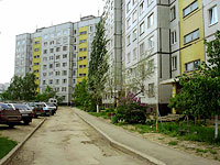 Togliatti, Zheleznodorozhnaya st, house 31. Apartment house