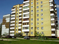 Togliatti, Zheleznodorozhnaya st, house 39. Apartment house