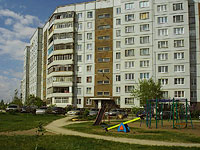 Togliatti, Zheleznodorozhnaya st, house 43. Apartment house