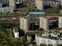 Togliatti, Zheleznodorozhnaya st, house 17. Apartment house
