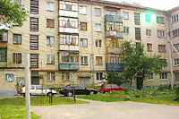 Togliatti, Zhilin st, house 11. Apartment house