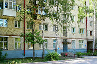 Togliatti, Zhilin st, house 56. Apartment house