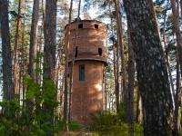 Тольятти, неиспользуемое здание башняулица Комзина, неиспользуемое здание башня