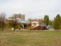 """Тольятти, уникальное сооружение судно на подводных крыльях """"Спутник"""", улица Коммунистическая, дом 90"""
