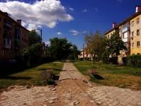 Тольятти, улица Крылова. сквер