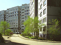 Togliatti, Kuybyshev st, house 16. Apartment house