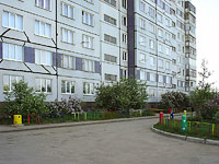 Тольятти, улица Куйбышева, дом 18. многоквартирный дом