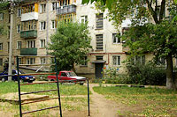 Togliatti, Leningradskaya st, house 52. Apartment house