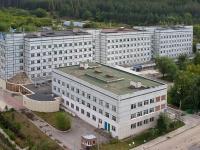 Тольятти, улица Лесная, дом 1. больница Детская многопрофильная