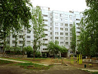 Togliatti, Matrosov st, house 21. Apartment house