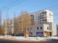 Тольятти, улица Механизаторов, дом 14. многоквартирный дом