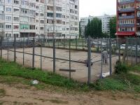 Тольятти, улица Механизаторов. спортивная площадка
