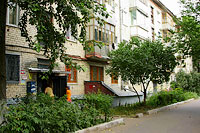 Togliatti, Mira st, house 55. Apartment house