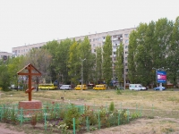 Togliatti, Mira st, house 100. Apartment house