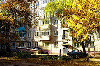 Togliatti, Molodezhny avenue, house 24. Apartment house