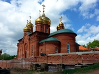 Тольятти, улица Нагорная, дом 1А. монастырь Свято-Воскресенский Мужской Монастырь