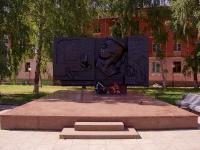 Тольятти, улица Шлюзовая. мемориал Е.А.Никонова