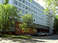 neighbour house: st. Novopromyshlennaya, house 22. office building