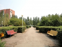 Togliatti, public garden на бульваре ОрджоникидзеOrdzhonikidze blvd, public garden на бульваре Орджоникидзе