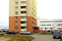 Togliatti, Ofitserskaya st, house 3. Apartment house