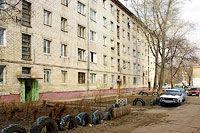 Togliatti, Pobedy st, house 12. Apartment house
