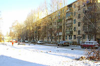 Togliatti, Pobedy st, house 15. Apartment house
