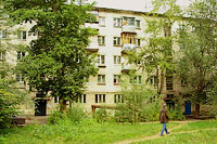 Togliatti, Pobedy st, house 44. Apartment house