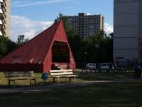 Тольятти, Приморский бульвар. праздничная площадка