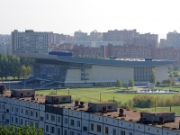 """Togliatti, sport palace """"Волгарь"""", Primorsky blvd, house 37"""