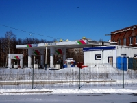 Тольятти, улица Спортивная, дом 3А. автозаправочная станция