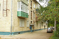Togliatti, Stavropolskaya st, house 43. Apartment house