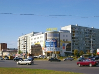 "neighbour house: st. Topolinaya, house 22А. shopping center ""Аверс"""
