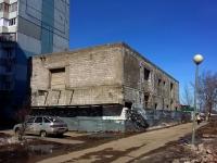 Тольятти, улица Тополиная. строящееся здание
