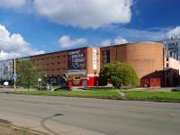 Тольятти, улица Тополиная, дом 1. многофункциональное здание