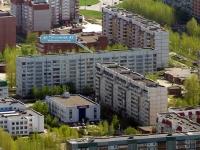 Togliatti, Topolinaya st, house 43. Apartment house