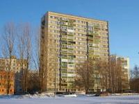 Togliatti, Yubileynaya st, house 61. Apartment house