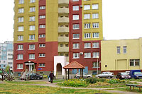 Togliatti, Yuzhnoe road, house 63. Apartment house