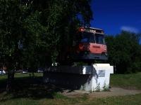 Тольятти, Южное шоссе. памятник ЛиАЗ-677М