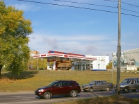 neighbour house: st. Yaroslavskaya, house 6. fuel filling station