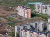 Togliatti, Aleksandr Kudashev st, house 100. Apartment house