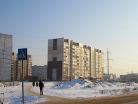 Togliatti, Tolstoy st, house 8. Apartment house