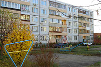 Togliatti, Tolstoy st, house 18. Apartment house